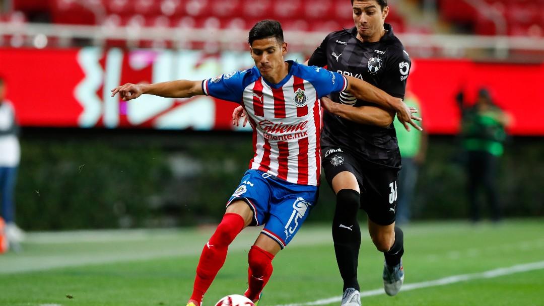Partido entre Chivas y Monterrey del Clausura 2020. Getty Images