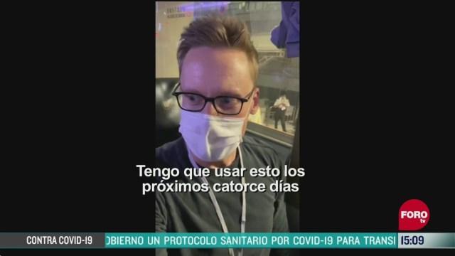FOTO: periodista narra su travesia en viaje de japon a hong kong en pandemia