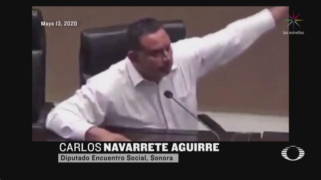 Foto: Perla Negra: Diputado de Sonora duda de la gravedad del COVID-19 18 Mayo 2020