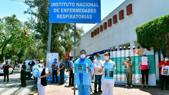 personal medico del iner protesta pr falta de insumos
