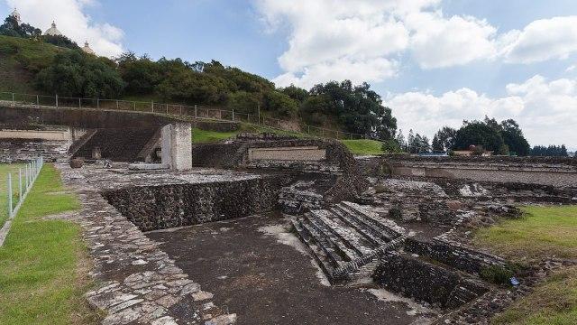 Pirámide Más Grande Del Mundo Cholula Foto 2020