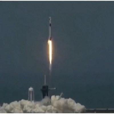 FOTO: Lanzamiento de SpaceX en Cabo Cañaveral, 30 de mayo de 2020 (NASA)