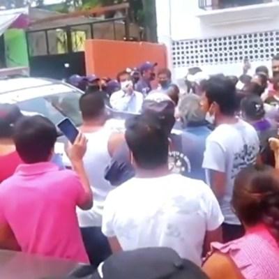 Por falsa información, pobladores de San Antonio de la Cal en Oaxaca impiden sanitización