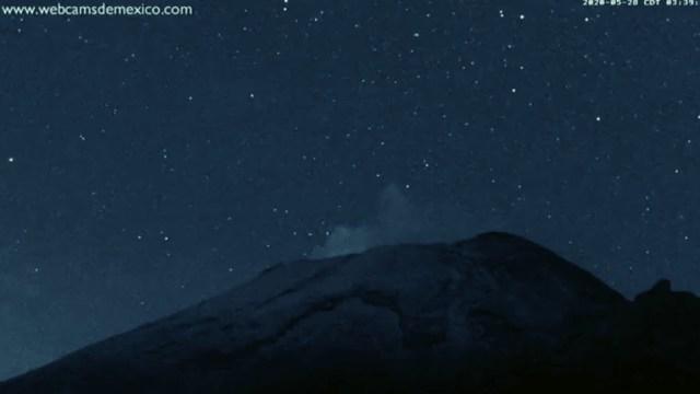 Popocatépetl registra 244 exhalaciones y 67 minutos de tremor en el último día