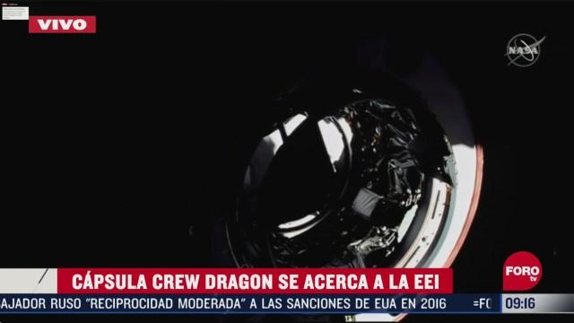 FOTO: 31 de mayo 2020, por que fue un hecho historico el lanzamiento de la capsula crew dragon