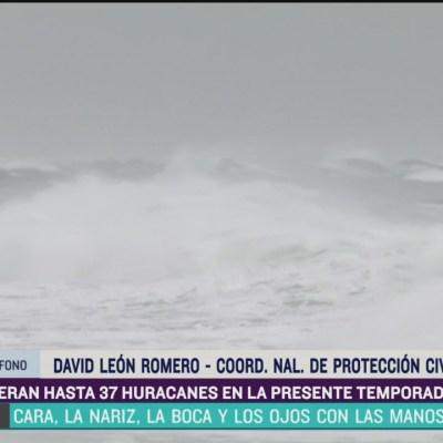 Prevén de 30 a 37 ciclones en México durante temporada de huracanes 2020