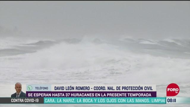 FOTO: 16 de mayo 2020, preven de 30 a 37 ciclones en mexico durante temporada de huracanes