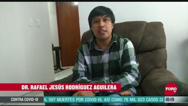 FOTO: rafael jesus rodriguez obtuvo primer doctorado a distancia en la unam