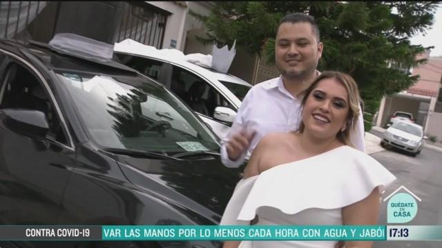 FOTO: realizan boda en monterrey a pesar de covid