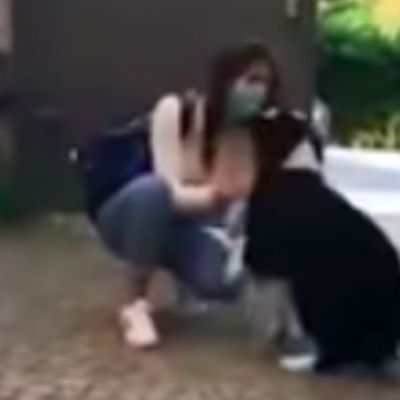 El emotivo encuentro de una chica y su perrita tras dos meses de cuarentena en Italia