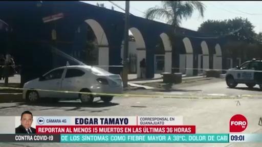 FOTO: 30 de mayo 2020, reportan 15 muertos en las ultimas 36 horas en guanajuato