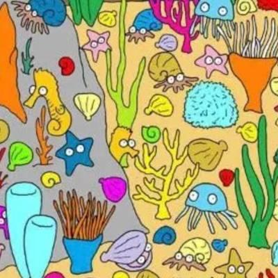Reto visual: ¿Dónde está el pez?