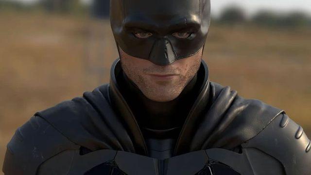 Robert Pattison Traje Batman Película Imagen 3D