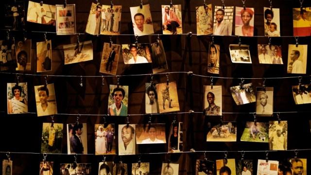 Fotografías del genocidio en Ruanda. (AP)