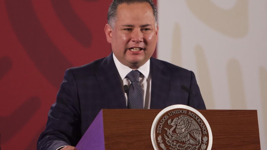 Santiago Nieto, titular de la Unidad de Inteligencia Financiera (UIF) de Hacienda. Cuartoscuro