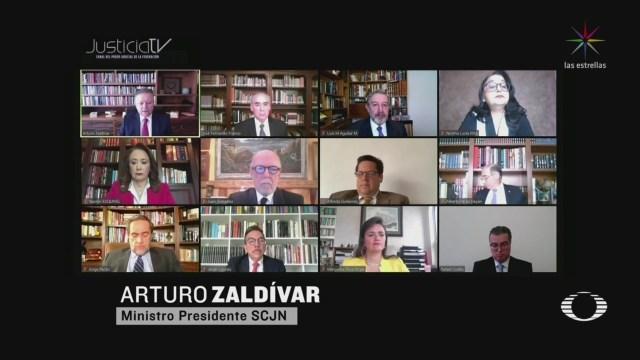 Foto: SCJN declara inconstitucional la 'Ley Bonilla' 11 Mayo 2020