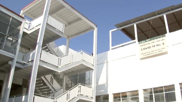 Sedena reconstruye hospital para pacientes con COVID-19
