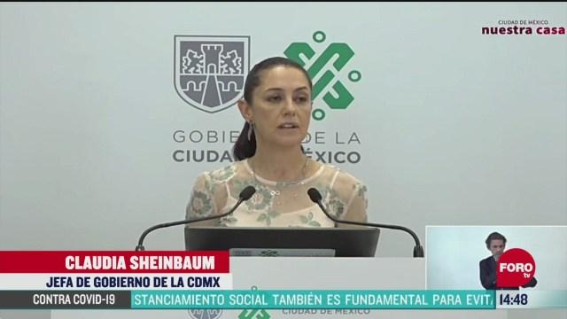 FOTO: sheinbaum anuncia plan de microcreditos para comerciantes informales