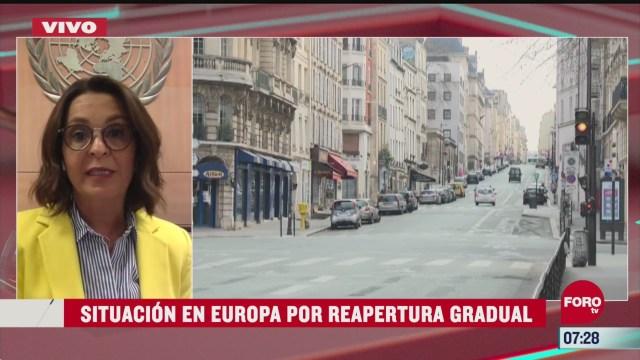 situacion de europa por reapertura gradual