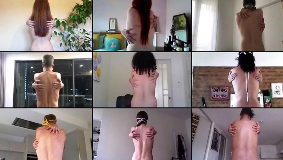 Spencer Tunick exhibe fotografías de desnudos desde el confinamiento