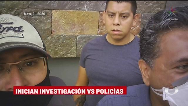 Suspenden a Policías de CDMX por agresión a reportero