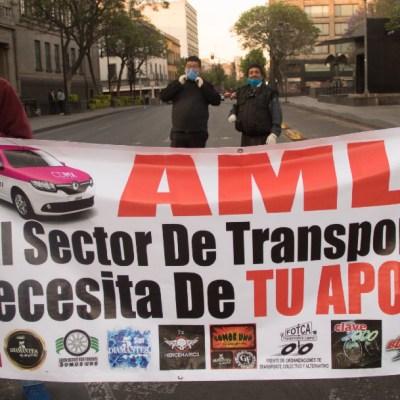 Habrá créditos para taxistas y comerciantes a través de Fonacot, anuncia AMLO