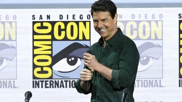 Tome Cruise en la Comic-Con de San Diego en 2019. Getty Images/Archivo