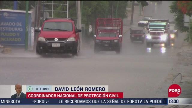 FOTO: 31 de mayo 2020, tormenta tropical amanda ocasionara fuertes lluvias en el sur del pais