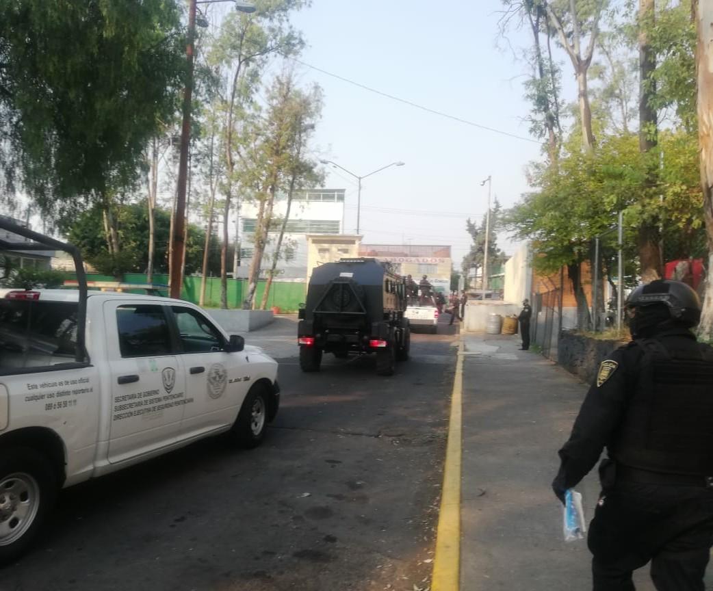Trasladan a 'El Lunares', líder de la 'Unión Tepito', al Reclusorio Norte en CDmx