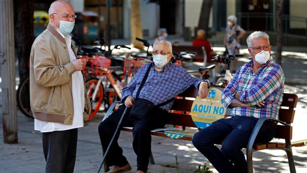 Muertos en España por coronavirus bajan y también las cifras de contagios