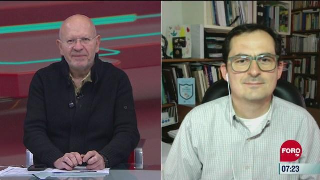 video entrevista completa con mauricio rodriguez vocero de la comision de covid 19 de la unam