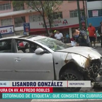 Volcadura en Gustavo A. Madero, CDMX, deja 3 lesionados