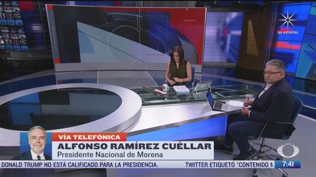 Entrevista con el presidente nacional de Morena, para Despierta