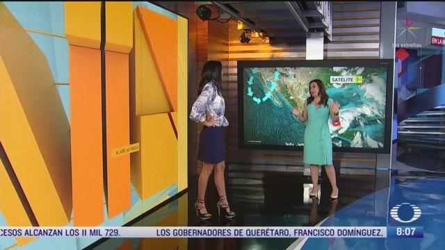 Clima Al Aire: Tormenta tropical Cristóbal provocará lluvias en el sureste de México