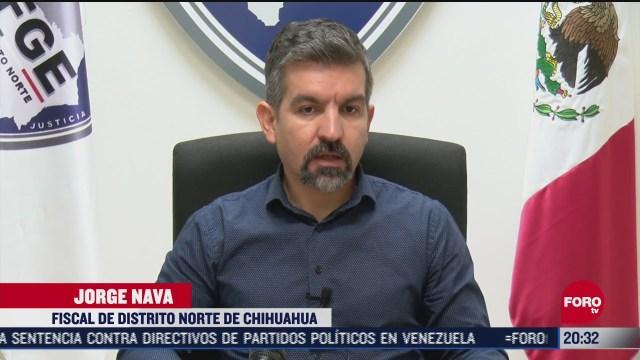 activan alerta roja en chihuahua tras ataques contra policias