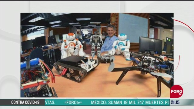 alistan robot para sanitizar hospitales en cdmx