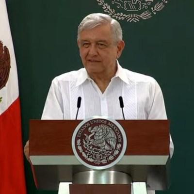 El presidente Andrés Manuel López Obrador, en su conferencia de prensa matutina. (Foto: redes Gobierno de México)