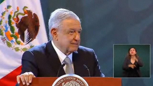 Foto: AMLO anuncia que 1 de julio se adelantarán 4 meses de pensión a adultos mayores