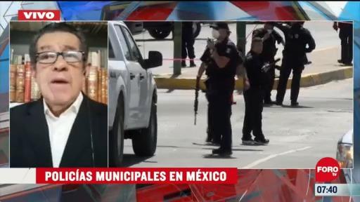 analisis sobre las policias municipales en mexico