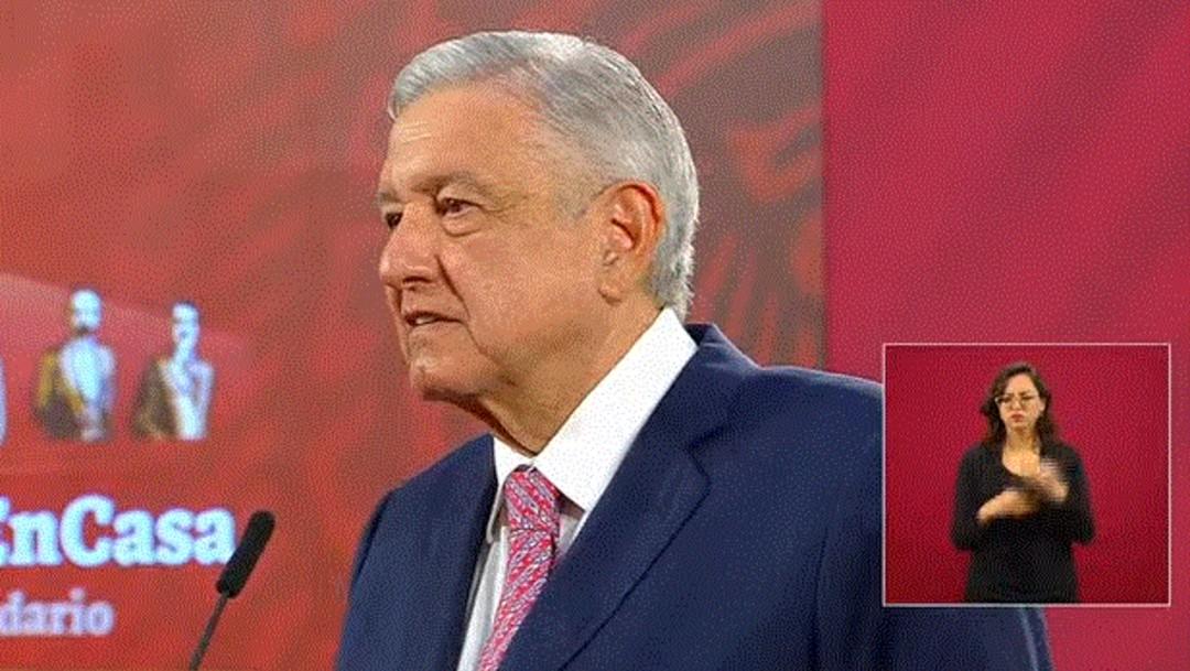 El presidente de México, Andrés Manuel López Obrador; confirma viaje a Estados Unidos