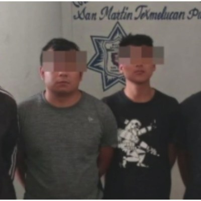 Detienen a cuatro de los integrantes de 'Los Meléndez' en Puebla