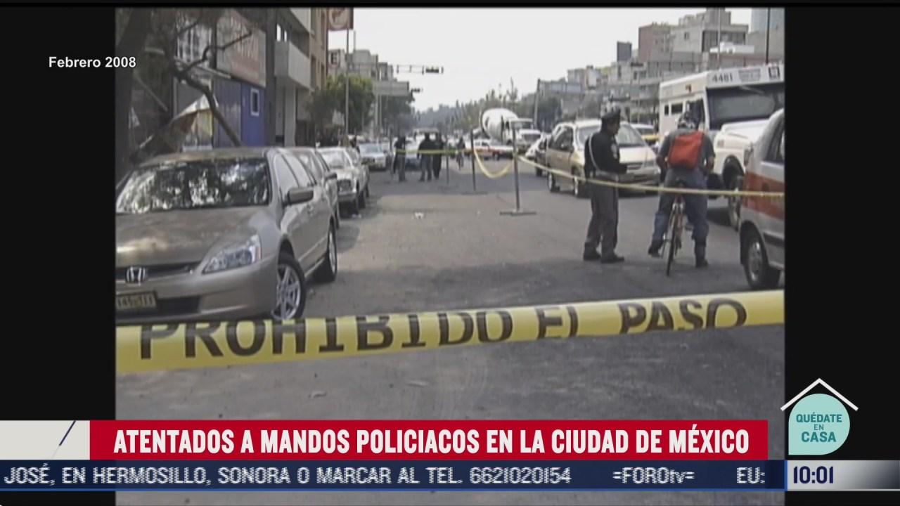 FOTO: 27 de junio 2020, atentados contra altos mandos policiacos en cdmx
