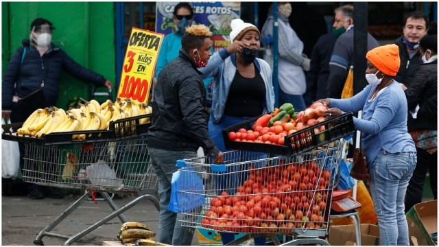 Imagen: Chile alcanzó un acuerdo para ayudar a los más necesitados, 14 de mayo de 2020 (Getty Images)
