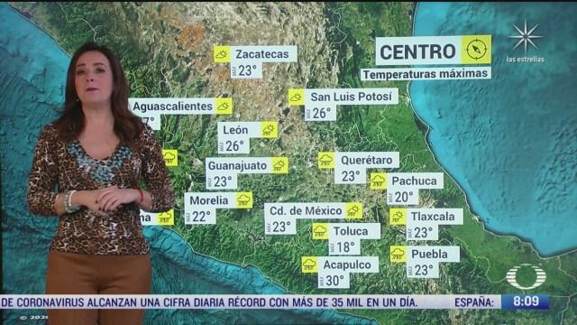 Clima Al Aire: Prevén lluvias fuertes y 24 grados centígrados en la CDMX