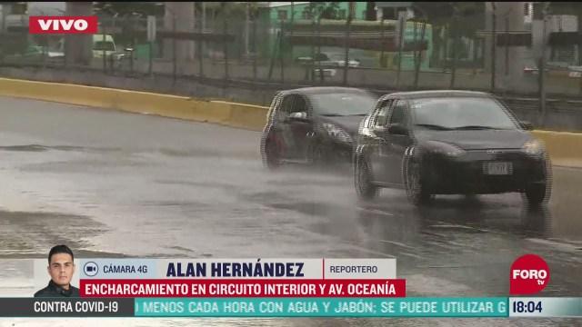 FOTO: 20 de junio 2020, cae intensa lluvia en diversos puntos de la cdmx en primer dia del verano