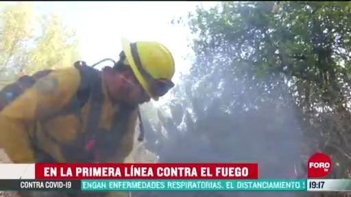 FOTO: 6 de junio 2020, cientos de brigadistas combaten incendios forestales