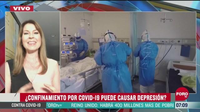 confinamiento por covid 19 que puede causar depresion