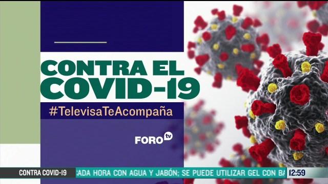 FOTO: contra el covid 19 televisateacompana primera emision del 22 de junio de