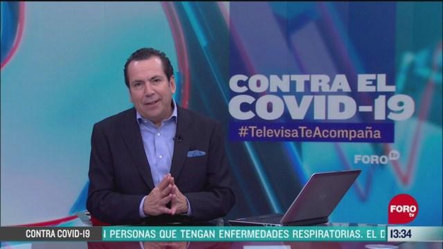 FOTO: contra el covid 19 televisateacompana primera emision del 3 de junio de