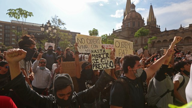 Foto: Enrique Alfaro acepta y atenderá recomendaciones de la ONU por manifestaciones, 6 de junio de 2020, (Cuartoscuro, archivo)